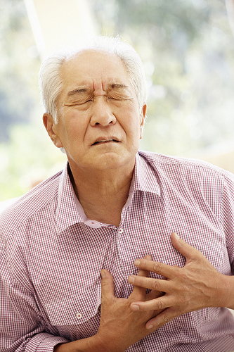 arm pain and heart attack